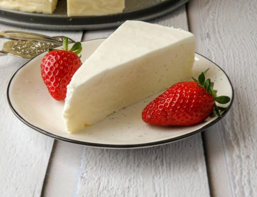 עוגת גבינת שמנת ללא בסיס