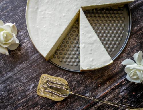 עוגת גבינה קרמית אפויה