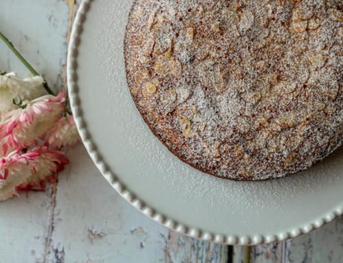 עוגת שקדים וקוקוס בחושה (ללא גלוטן)
