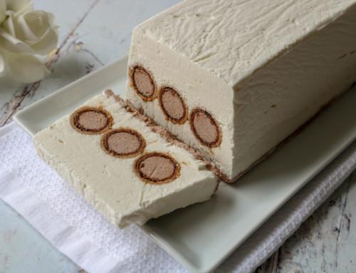 עוגת גלידה עם גליליות