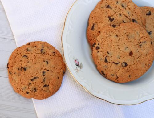 עוגיות שוקוצ'יפס בסגנון אמריקאי